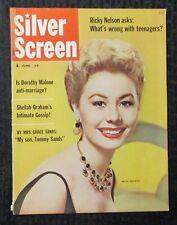 1958 June SILVER SCREEN Magazine #6 VG/FN 5.0 Mitzi Gaynor / Ricky Nelson