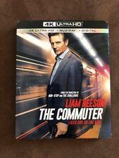 The Commuter (4k Ultra HD, Blu-Ray, Digital) New - Sealed - Free Shipping