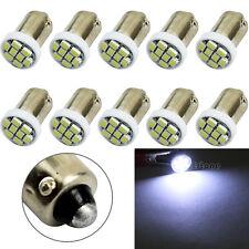 10X BA9S 8 SMD LED 1206 Car Interior Light Lamp Bulb sidelights White 12V
