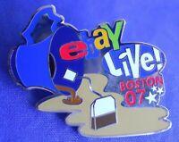 eBay Live 2007 Boston Tea Party Lapel Hat Pin