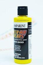 Createx Auto-Air Colors 4oz Transparent Yellow 4231 Custom Airbrush Paint