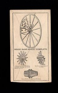 ALL OVER Royer Wheel Co Cincinnati 1882 Fancy Target # 2 PSE Cover 8p