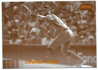 2020 Topps Stadium Club Christian Walker Sepia Retail Parallel SP No. 265