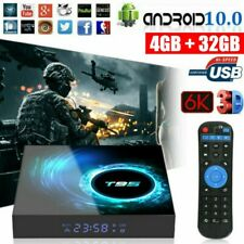 T95 Android 10.0 4+32G Quad Core 6K Smart TV BOX WIFI Netzwerk Media Player DHL