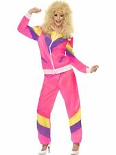 80's Height of Fashion Shell Suit Costume, 1980's Fancy Dress, UK Size 12-14