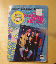 NKOTB- Activity Book- New Kids on the Block- Paperback