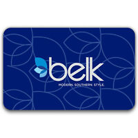 $25 / $50 / $100 Belk Physical Gift Card - FREE Standard 1st Class Mail Delivery