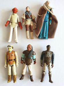 Konvolut Star Wars Vintage Figuren von Kenner