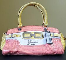 Guess Handbag Satchel Purse Mikelle Coral MSRP $110 #4