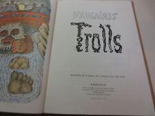d'Aulaires' Trolls d Aulaires Trolls vintage 1972 A Zephyr Book hardcover