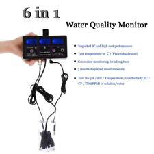 6 in1 Digital Water Quality Tester Pool PH/TEMP/EC/CF/ORP/TDS Monitor Meter Y6K7