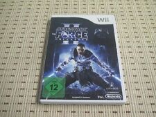 Star Wars The Force Unleashed II per Nintendo Wii e Wii U * OVP *