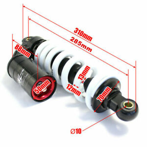 285mm Rear Back Shock Absorber Shocker Suspension PIT QUAD DIRT BIKE ATV BUGGY