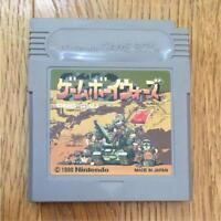 Nintendo Game Boy video gameGAME BOY WARS 1 DMG-GWJ ref/ccc  Boxed Game gb Japan