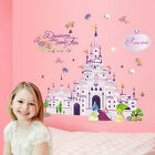 Princess Castle Girl Wall Decal Sticker Home Decor Vinyl Art Kids Nursery Room