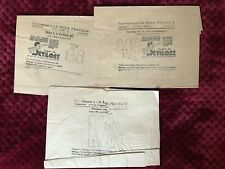 1931 Original French Antique MODE PRATIQUE Patterns factory fold