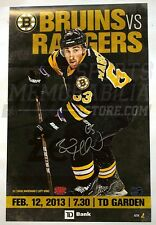 Brad Marchand Boston Bruins Signed 2013 Game Day Roster Poster 11x17