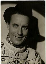 1930 PHOTO OF DUTCH ACTOR JOHANNES HEESTERS TOBIS FILM UNIONE