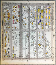 Original 1922 Maps of Brooklyn - Avenues M N & O from E12th St to Mansfield Pl