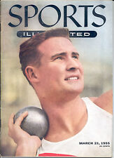 Sports Illustrated 1955 USC Parry O'Brien SHOTPUT Olympic Track NEWSSTAND