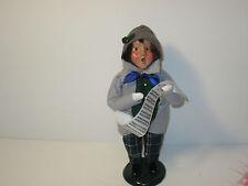 Byers Choice 1995 Dapper Boy with Green Plaid Pants