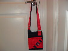 CLEVELAND INDIANS PURSE / HANDBAG / MESSENGER BAG MLB MADE BY TESSUTA VERY NEAT