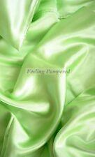 "100% mulberry silk charmeuse King Duvet Blanket cover 105x93"" in Green 19 momme"