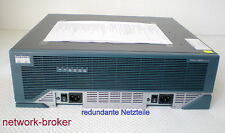 CISCO 3845 2 x Netzteile / PSU 1GB RAM 128MB Flash IOS c3845-advipservicesk9