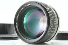 【MINT】 Nikon Ai-s Nikkor 85mm F/1.4 w/ Hood MF Lens Ais From Japan