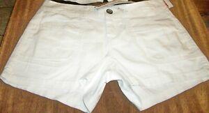 Juniors Shorts sz 11 UNION BAY DELANEY White 96% Cotton 4% Spandex NWT