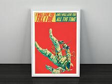 Spiritualized Damas y genlemen estamos flotando en el espacio inspirado Art Print