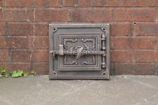 32.5 x 29.8 cm cast iron fire door clay / bread oven doors pizza stove fireplace