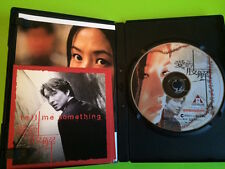 Tell Me Something DVD Korean movie - Edko SE w/ postcards Shim Eun-ha Han Suk-yu