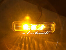 BMW E39 5-Series LED Side Markers SMOKE Lens MIT