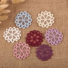 14x Vintage Flores Daisy Encaje De Ganchillo Para Coser Tejido Detalles Parches