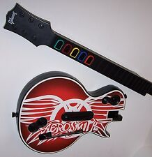 Guitar Hero Aerosmith Sony PlayStation Controller and Video Game - Rock Band -