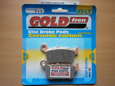 HONDA XR 250 (RS) XR250 R 1995  > (OFF-ROAD) SINTERED REAR BRAKE PADS *GOLDFREN*