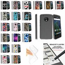 For Motorola Moto G5 Plus | Moto G5 Plus | XT1687 Clear TPU Case Unique Designs
