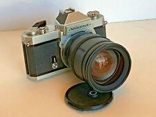 Nikon Nikkormat Ft2 35mm Slr film camera + 28 - 200mm auto focus aspherical zoom