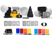 MagMod Mega Kit. Flash Modifier Set w/ Gels, Grid, Snoot, MagSphere, MagBounce