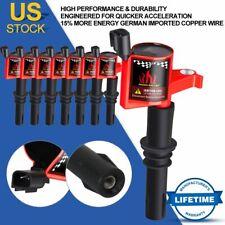 8PCS Ignition Coils On Plug Multispark Blaster for Ford F150 04-08 V8 4.6L DG511