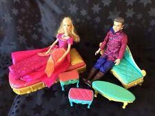 Barbie Diamond Castle Singing Light-up Liana Doll, Ian & Castle Furniture Bundle