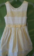 Tona Michelle Yellow Girl Dress_Size 7_New With Tag
