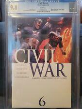 Civil War #6 :CGC 9.8, Marvel Comics, December 2006 A Marvel Comics Event