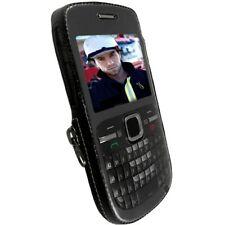 Krusell Classic Case multiadapt clip cuero-bolsa cover para Nokia c3 c3-00 estuche