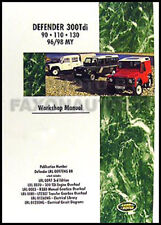 Land Rover Defender Shop Manual 1996 1997 1998 300Tdi 90 110 130 Repair Workshop