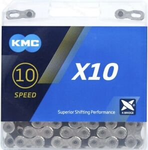KMC X10 10-Speed Stretch-Proof Bike Chain Road MTB X10.93 fit Shimano SRAM Campy