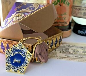 HP⚡ Chocolate Frog Keyring. UK Seller 🇬🇧