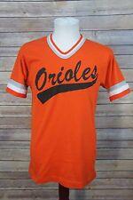 Vintage 70's/80's Howe Athletic Orange ORIOLES Jersey T-Shirt #33 Medium