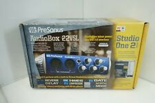 Presonus AudioBox 22VSL 24-Bit/96 kHz 2x2 USB 2.0 Audio Interface -NEW